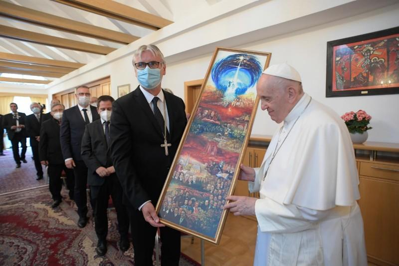 Ekumenicke stretnutie nunciatura Frantisek